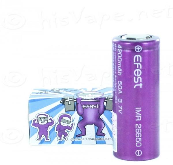 Efest Purple IMR26650 4200mAh