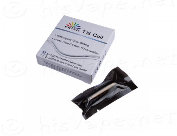 5 x Replacement Coil Endura T18 - Prism