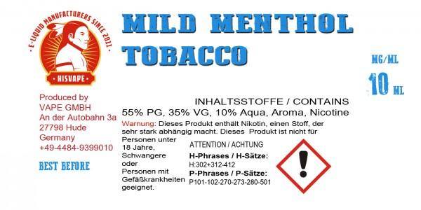 Mild Menthol