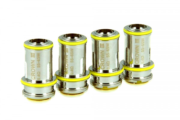 4 x Replacement Coils Uwell Crown 3