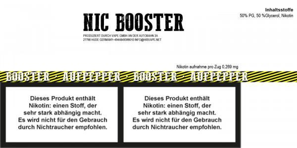Nicshot 20mg/ml VG/PG 50/50