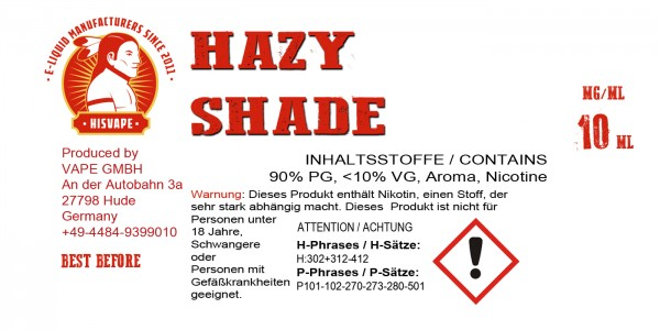 Hazy Shade