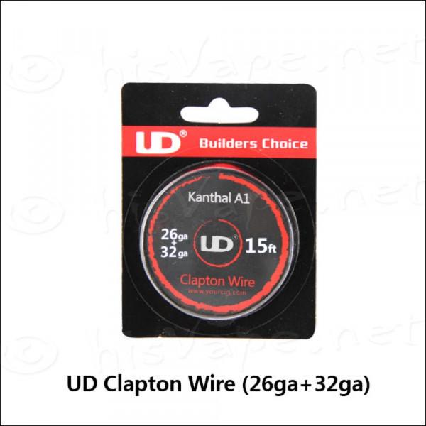 UD Kanthal Clapton Wire (26ga+32ga)