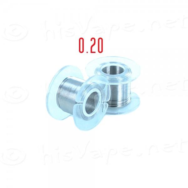 Nickel 200 wire 0.20mm 10 Meter #2