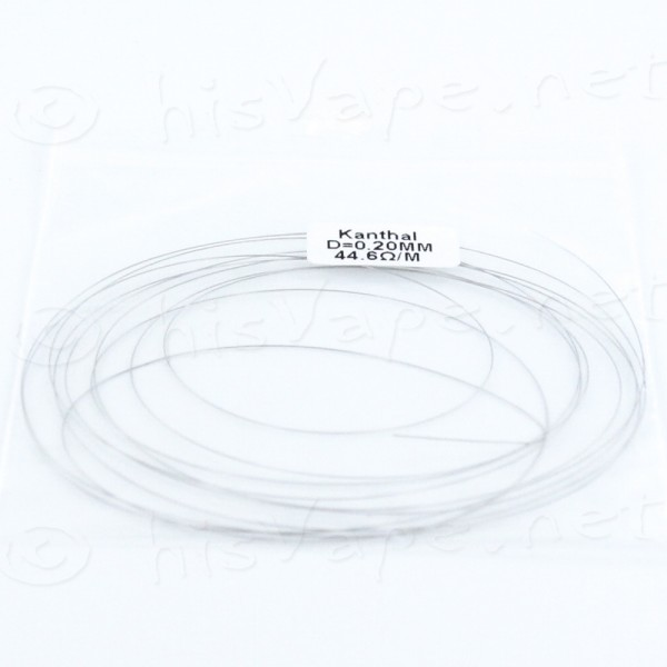 Kanthal Wire 0.20mm 44,6 Ohm/m