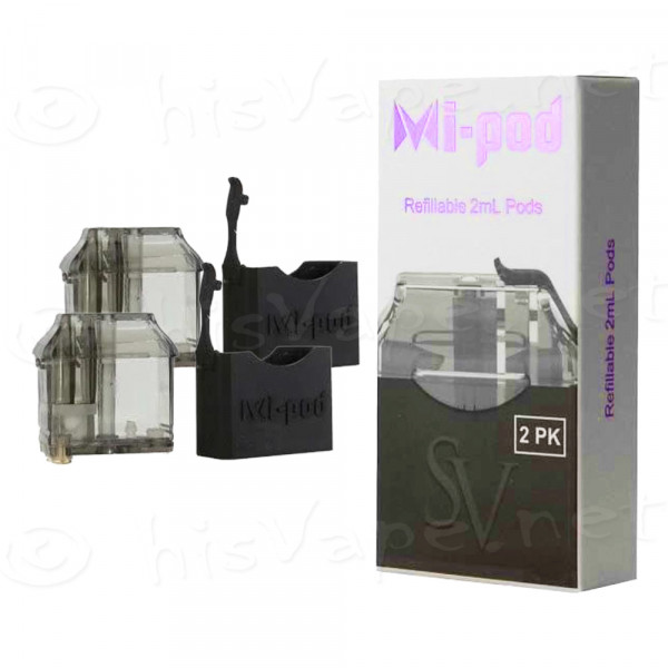 2 x replacement pods Smoking Vapor Mi-Pod