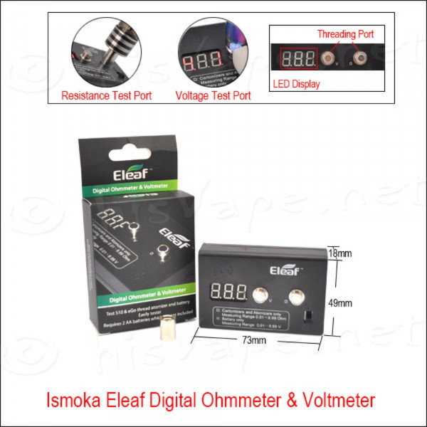 Digital Ohm- / Voltmeter